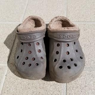 クロックス(crocs)のクロックス サンダル キッズ 8 9(サンダル)