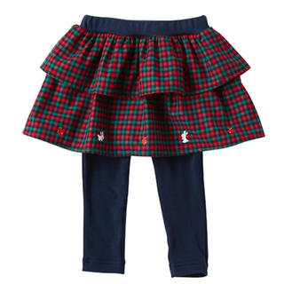 familiar - スカート レギンス付き 80サイズ
