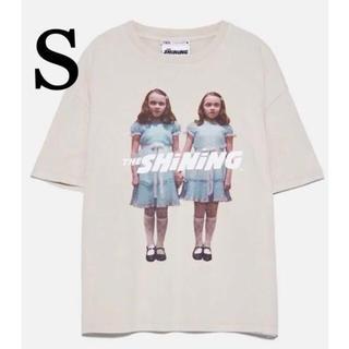 ZARA - レア 新品 S  ザラ シャイニング tシャツ  s