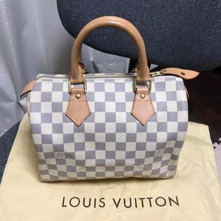 LOUIS VUITTON - キュートルイヴィトンスピーティ25ハンドバッグ