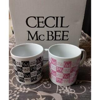 セシルマクビー(CECIL McBEE)の新品 CECIL McBEE ペアマグカップ(グラス/カップ)