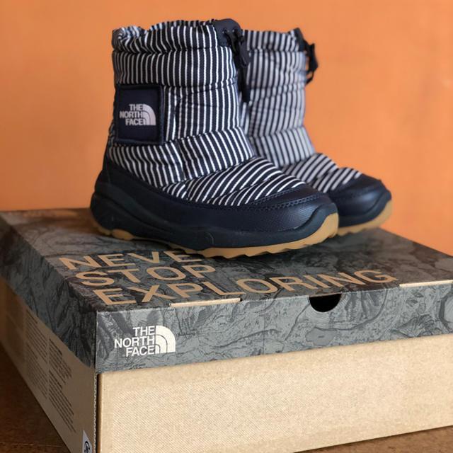 THE NORTH FACE(ザノースフェイス)のノースフェイス THE NORTH FACE スノーブーツ キッズ キッズ/ベビー/マタニティのキッズ靴/シューズ (15cm~)(ブーツ)の商品写真