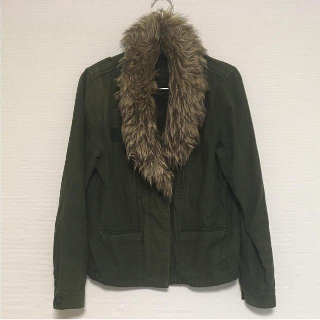 JEANASIS(ジーナシス)のジーナシス  ファーミリタリーコート レディースのジャケット/アウター(モッズコート)の商品写真