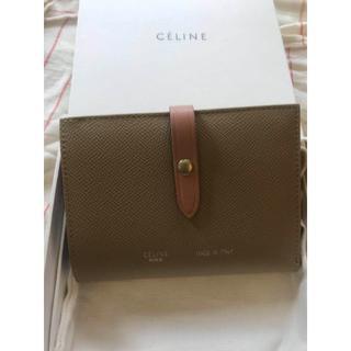 celine - セリーヌ ストラップ 財布