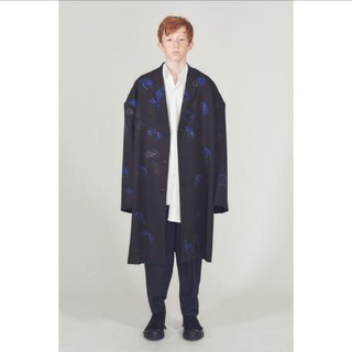 LAD MUSICIAN - super big long jacket 18aw 花柄