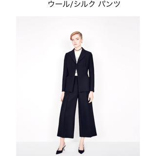 Christian Dior - ★クリスチャンディオール★dior★ウールシルクパンツ★2019aw★ネイビー★