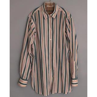 エディション(Edition)のBACCA stripe shirt(シャツ/ブラウス(長袖/七分))