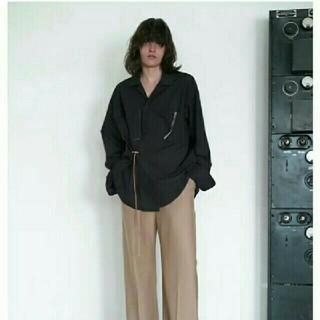 SUNSEA - sunsea 19aw ジゴロシャツ 黒 S 新品