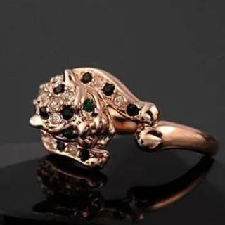 豹 パンテール パンサー 指輪(リング(指輪))