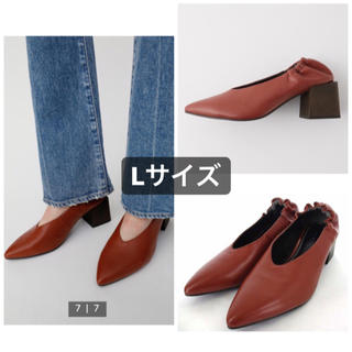 moussy - MOUSSY BLOCK HEEL パンプス
