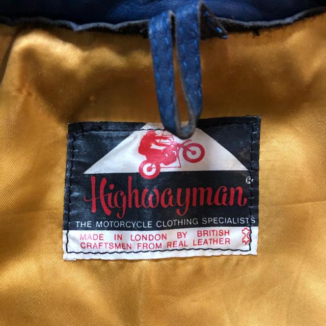 Lewis Leathers(ルイスレザー)のハイウェイマンリカルドデラックス HighwaymanRicardodeluxe メンズのジャケット/アウター(ライダースジャケット)の商品写真