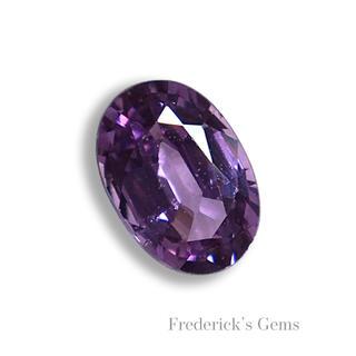 """""""高貴""""な紫色 0.6ct UP 天然 パープルサファイア ルース(リング(指輪))"""
