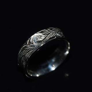 セール 15号 ハワイアンジュエリー リング 指輪 ステンレス 316L メンズ(リング(指輪))