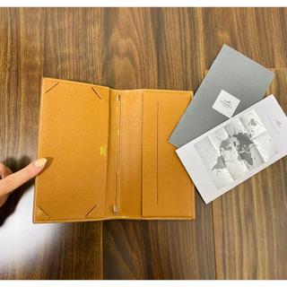 エルメス(Hermes)のエルメス HERMES 手帳カバー アジェンダ ヴィジョン手帳 ブラウン(カレンダー/スケジュール)