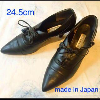 紐ヒール革靴(ローファー/革靴)