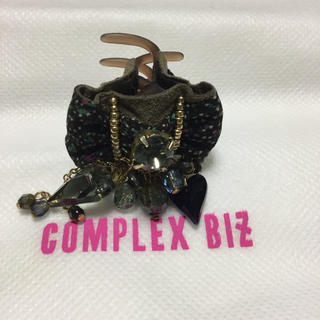 コンプレックスビズ(Complex Biz)のCOMPLEX biz ハートのスワロのクリップ(バレッタ/ヘアクリップ)