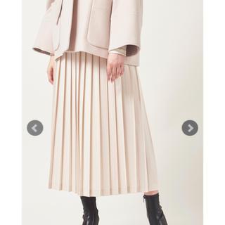 【新品・未使用・タグ付】yori プリーツスカート