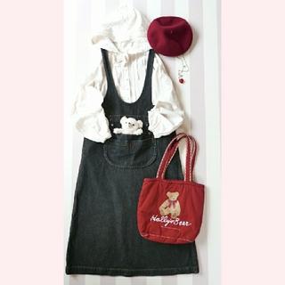 ピンクハウス(PINK HOUSE)の【Wonderful World】ジャンパースカート(ロングスカート)