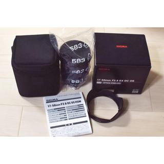 SIGMA - SIGMA 17-50mm F2.8 EX DC OS HSM / Nikon用