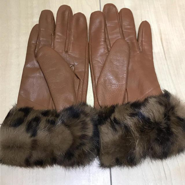 OPAQUE(オペーク)の美品☆rongeloup ルージュルー 手袋 レディースのファッション小物(手袋)の商品写真