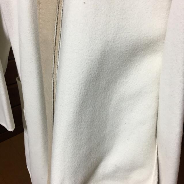 Mila Owen(ミラオーウェン)のミラオーウェン  Mila Owen ノーカラーリバーコート レディースのジャケット/アウター(ロングコート)の商品写真
