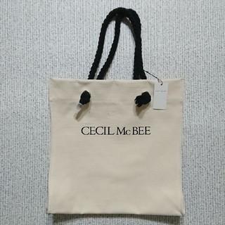 セシルマクビー(CECIL McBEE)のCECIL McBEE 帆布トートバッグ(トートバッグ)