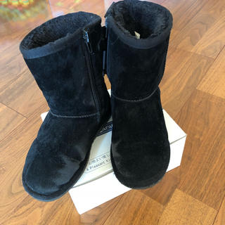 プティマイン(petit main)のプティマイン ボアブーツ 19センチ(ブーツ)