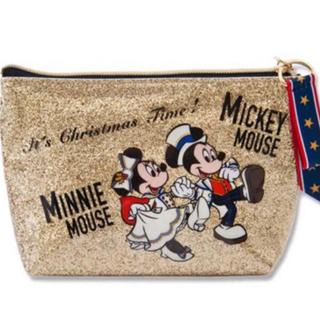 ミッキーマウス - ディズニー 新商品 クリスマス ポーチ 🎄✨