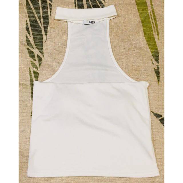 GYDA(ジェイダ)のGYDA へそ出し レディースのトップス(Tシャツ(半袖/袖なし))の商品写真