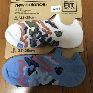 ニューバランス(New Balance)のニューバランス☆靴から見えにくい!スニーカーソックス 23〜25(ソックス)