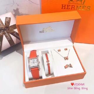 Hermes -    HERMES ネックレス、時計、ブレスレット、ピアス、指輪