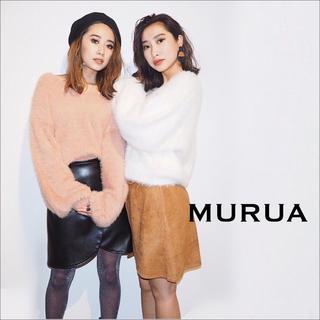ムルーア(MURUA)のMURUA シャギーVネック ニット♡GYDA ENVYM ZARA マウジー(ニット/セーター)