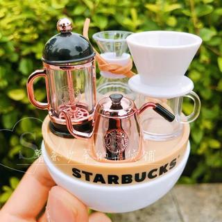 Starbucks Coffee - 3個セット!フィギュア 模型 ドールハウス 置物 台湾スターバックス クリスマス