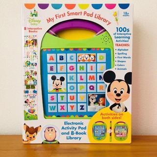 Disney - 新品☆ディズニー  ベビー マイファーストスマートパッド 英語 絵本 8冊