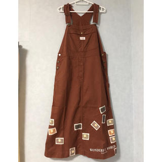 PINK HOUSE - ワンダフルワールド  ジャンパースカート