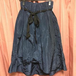 スコットクラブ(SCOT CLUB)のネイビー スカート(ひざ丈スカート)