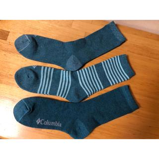 コロンビア(Columbia)の最新作Columbia コロンビアメンズ 靴下 ソックス  3足セット(ソックス)