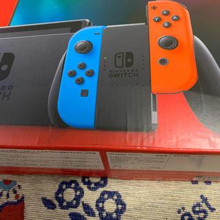 Nintendo Switch - 外箱難あり 新品 任天堂スイッチ NintendoSwitch ネオン