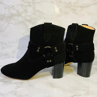 MOROBE : レディース ladies ショートブーツ 黒 革 24cm(ブーツ)