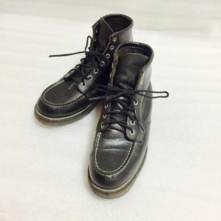 レッドウィング(REDWING)のレッドウイング オールブラック ブーツ(ブーツ)