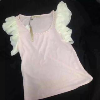 リュクスローズ(Luxe Rose)の新品たぐ リュクスローズ トップス(カットソー(半袖/袖なし))