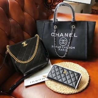 CHANEL - 手提げ袋クロスポディバッグ