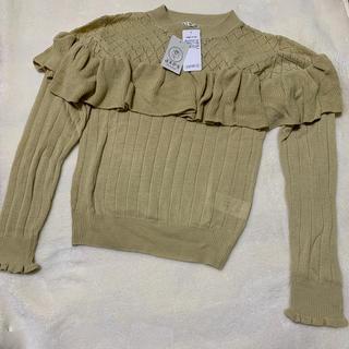 アクシーズファム(axes femme)のセーター アクリル100% 新品未使用 お値下げ中(ニット/セーター)