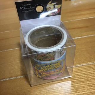 ポケモン(ポケモン)のポケモン ピカチュウ マスキングテープ 3個入り(テープ/マスキングテープ)