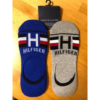 トミーヒルフィガー(TOMMY HILFIGER)の大人気トミーヒルフィガー   NO- Show Socksメンズ靴下 2足セット(ソックス)