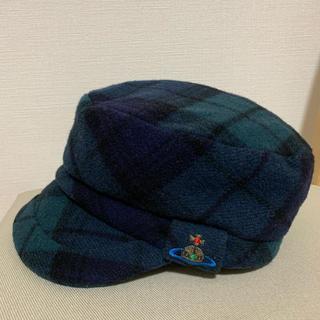 ヴィヴィアンウエストウッド(Vivienne Westwood)のviviennewestwood 帽子(キャスケット)