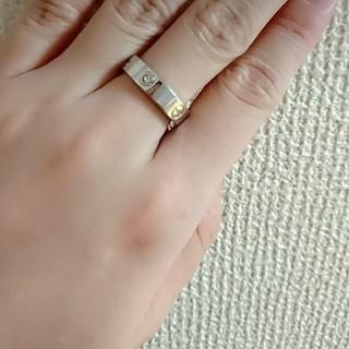 カルティエ ラブリング 石つき(リング(指輪))