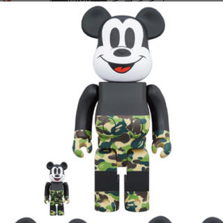 メディコムトイ(MEDICOM TOY)のBE@RBRICK BAPE(R) MICKEY MOUSE 100%&400%(その他)