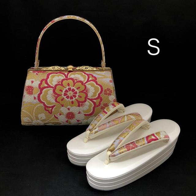 草履バッグ セット Sサイズ (新品) #697 レディースの靴/シューズ(下駄/草履)の商品写真