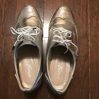 新品、未使用シルバーローファー(ローファー/革靴)